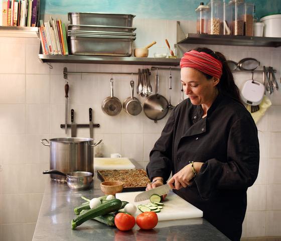 Photo de Pascale en cuisine